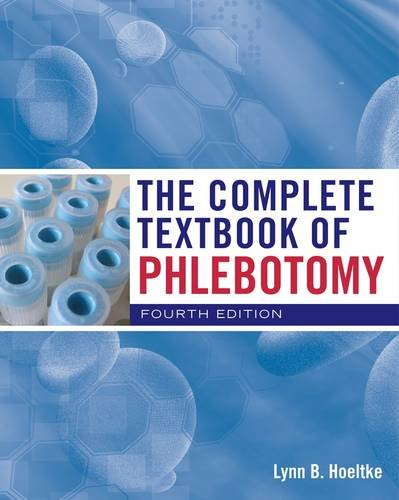 Complete Textbook of Phlebotomy  4th 2013 edition cover
