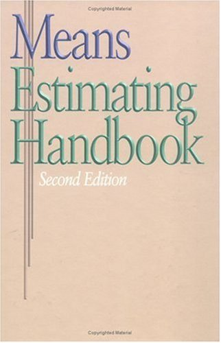 Means Estimating Handbook  2nd 2003 edition cover