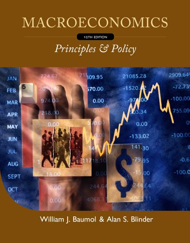 Macroeconomics - Principles and Policy  12th 2012 edition cover