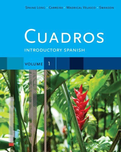 Cuadros Introductory Spanish + iLrn Heinle Learning Center 6 Month Printed Access Card:   2012 9781133497998 Front Cover