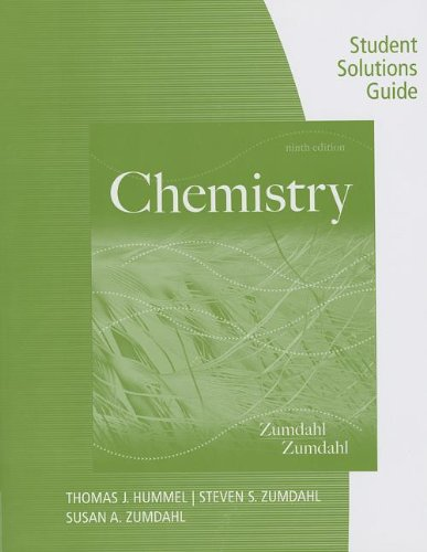 Chemistry  9th 2014 edition cover