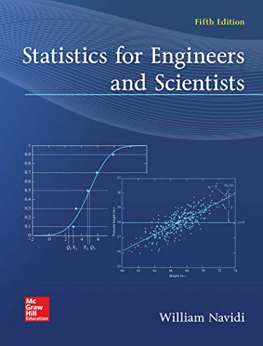 STATISTICS FOR ENGINEERS+SCIEN.(LOOSE)  N/A 9781260430998 Front Cover