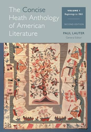 The Heath Anthology of American Literature:   2013 edition cover