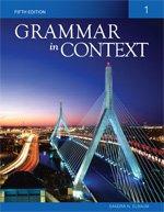 Grammar in Context 1:  2009 edition cover