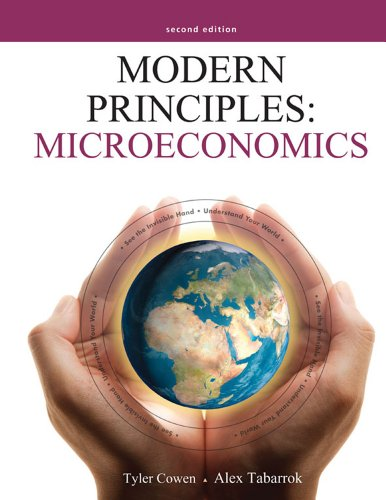 Modern Principles: Microeconomics  2nd 2013 (Revised) edition cover
