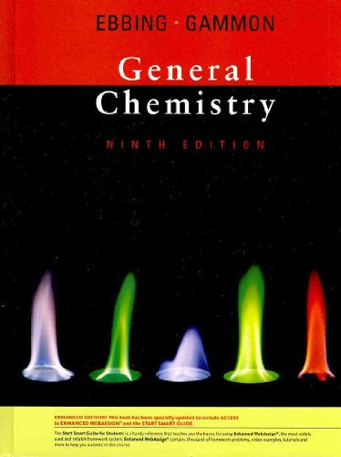 General Chemistry  9th 2010 edition cover