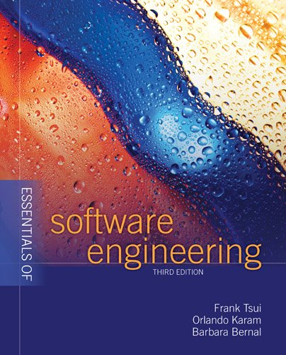 Essentials of Software Engineering  3rd 2014 edition cover
