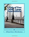 Tale of Two Cities - Large Print Edition  Large Type  9781494240998 Front Cover