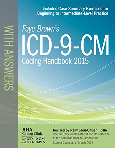 ICD-9-CM Coding Handbook, with Answers, 2015 Rev. Ed  N/A edition cover