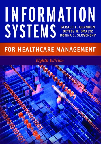 Information Systems for Healthcare Management:   2013 edition cover
