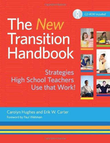 New Transition Handbook Strategies High School Teachers Use That Work! 2nd 2012 edition cover