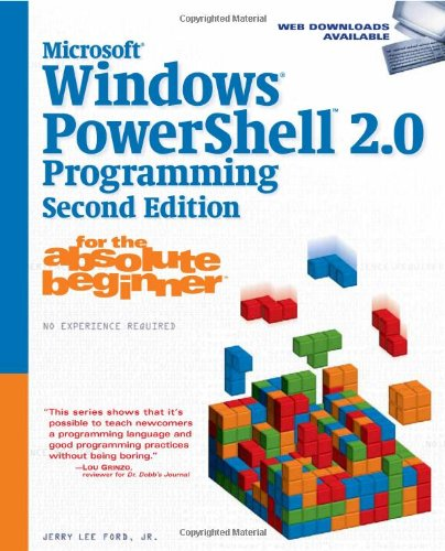 Microsoft� Windows Powershell 2. 0 Programming  2nd 2009 9781598638998 Front Cover