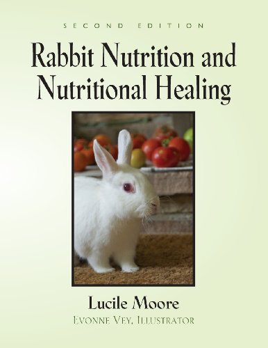 Rabbit Nutrition and Nutritional Healing - Second Edition   2013 edition cover