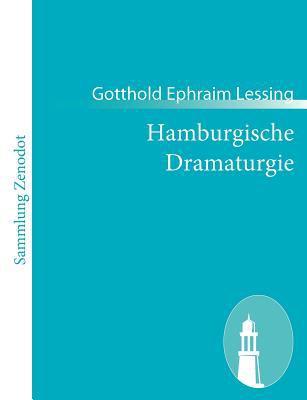 Hamburgische Dramaturgie   2010 9783843057998 Front Cover