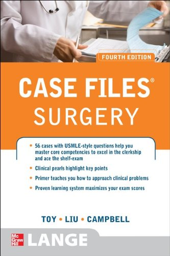Case Files Surgery  4th 2012 edition cover