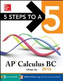 5 Steps to a 5 AP Calculus BC 2016  2nd 2015 edition cover