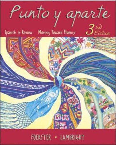 Punto y Aparte  3rd 2007 edition cover