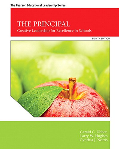 Principal Creative Leadership for Excellence in Schools 8th 2016 edition cover