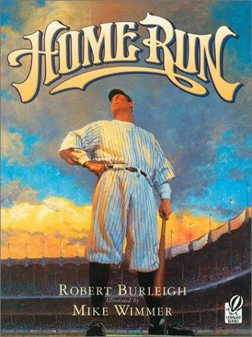 Home Run The Story of Babe Ruth  1998 9780152045999 Front Cover