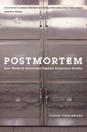Postmortem How Medical Examiners Explain Suspicious Deaths Annotated edition cover