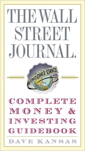Wall Street Journal Complete Money and Investing Guidebook   2005 edition cover