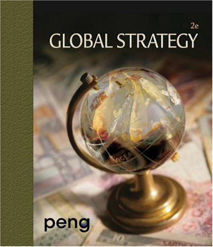 Global Strategy  2nd 2009 9780324590999 Front Cover