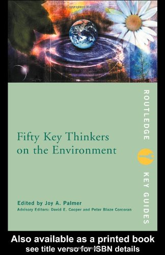 Fifty Key Thinkers on the Environment   2001 edition cover