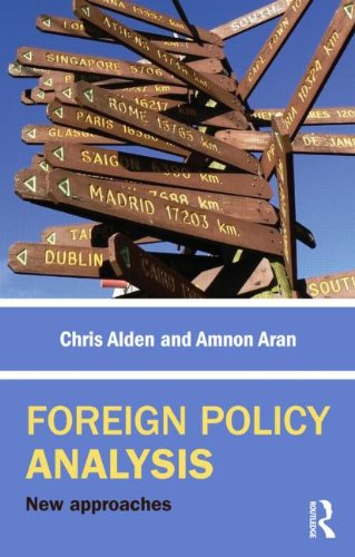 Foreign Policy Analysis New Approaches  2012 edition cover