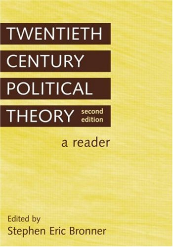Twentieth Century Political Theory A Reader 2nd 2006 (Revised) edition cover