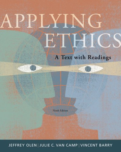 Applying Ethics A Text with Readings 9th 2008 edition cover
