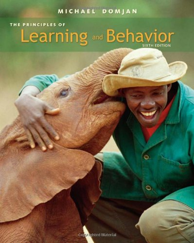 Principles of Learning and Behavior Active Learning Edition 6th 2010 edition cover
