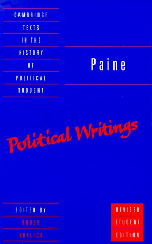 Paine Political Writings 2nd 2000 (Revised) edition cover