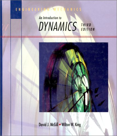 Engineering Mechanics An Introduction to Dynamics 3rd 1995 9780534933999 Front Cover
