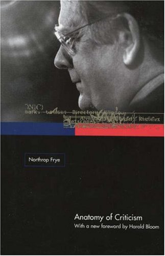 Anatomy of Criticism Four Essays  2001 (Revised) edition cover