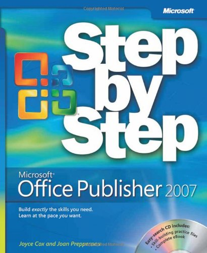 Microsoft� Office Publisher 2007   2008 (Revised) edition cover