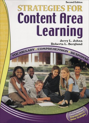 Strategies for Content Area Learning Vocabulary*Comprehension*Response W/ Cd Rom 2nd 2006 (Revised) 9780757527999 Front Cover
