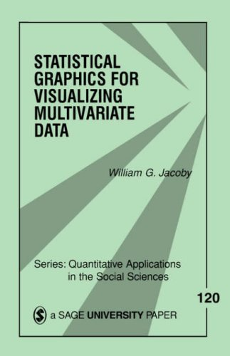Statistical Graphics for Visualizing Multivariate Data   1998 edition cover
