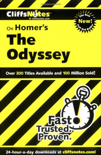 CliffsNotes on Homer's the Odyssey   2000 edition cover