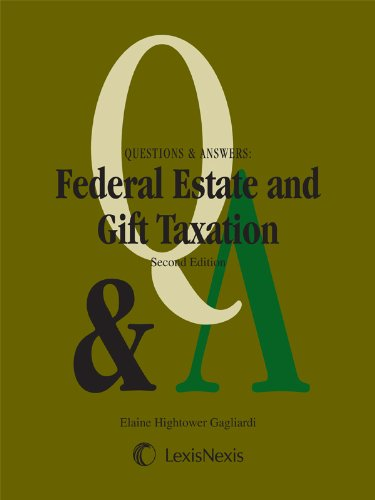 Federal Estate & Gift Taxation:   2013 edition cover