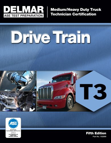 ASE Test Preparation - T3 Drive Train  5th 2013 edition cover