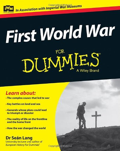 First World War for Dummies   2014 edition cover