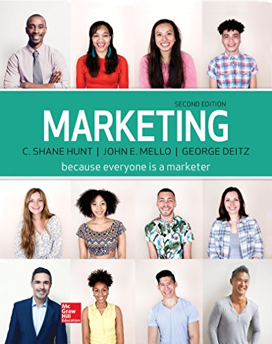 Marketing Loose Leaf  2nd 2018 9781259598999 Front Cover
