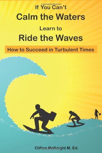 If You Can't Calm the Waters Learn to Ride the Waves How to Succeed in Turbulent Times N/A edition cover