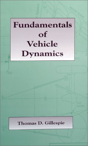 Fundamentals of Vehicle Dynamics   1992 edition cover
