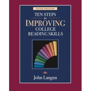 Ten Steps to Improving College Reading Skills  5th 2008 edition cover