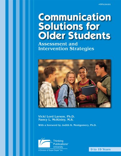Communication Solutions for Older Students : Assessment and Intervention Strategies 1st 2003 edition cover