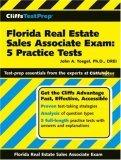 CliffsTestPrep Florida Real Estate Sales Associate Exam 5 Practice Tests 2006 9780470037003 Front Cover