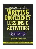 Ready-to-Use Writing Proficiency Lessons and Activities 2003 9780787966003 Front Cover