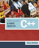 First Book of C++ 4th 2011 Revised 9781111531003 Front Cover