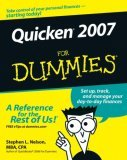 Quicken 2007 for Dummies 2006 9780470046005 Front Cover